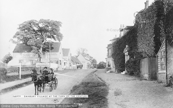 Danbury, the Village, © Copyright The Francis Frith Collection 2005. http://www.francisfrith.com