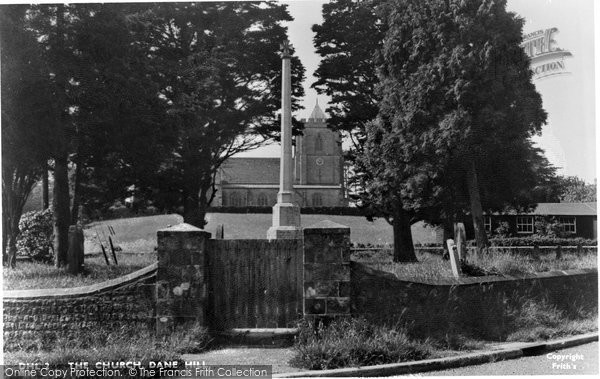 Danehill, the Church c1955
