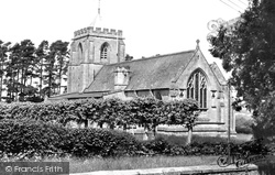 Danehill, All Saints Church c.1955