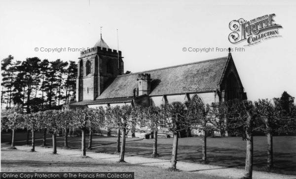 Photo of Danehill, All Saints Church c.1955