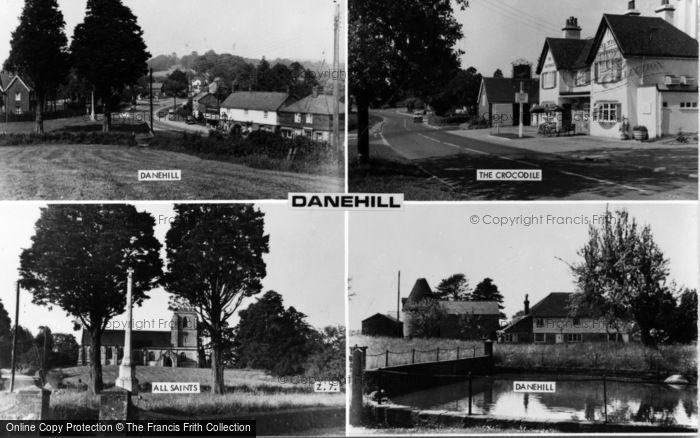 Photo of Danehill, Composite c.1955