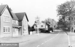 Danehill, Crocodile Inn c.1955