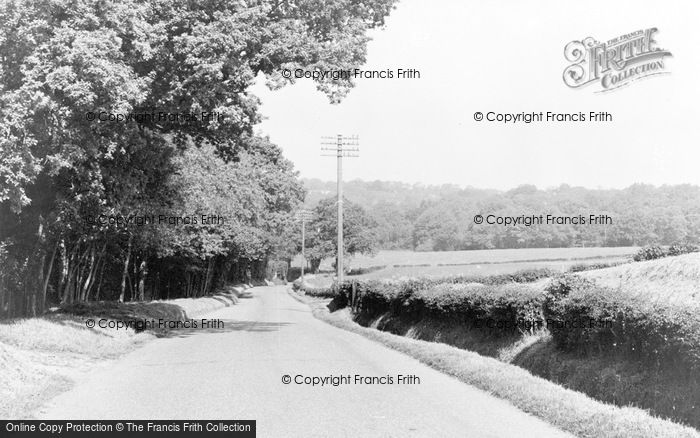 Photo of Danehill, Horsted Keynes Road c.1955