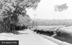 Danehill, Horsted Keynes Road c.1955