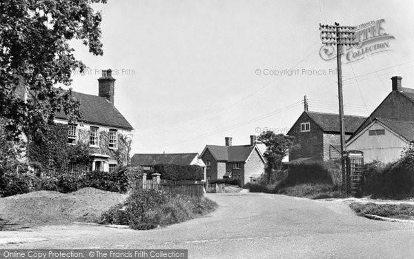 Photo of Danehill, Horsted Lane Corner c.1955
