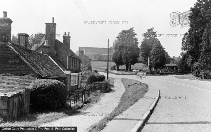 Photo of Danehill, The Village c.1955