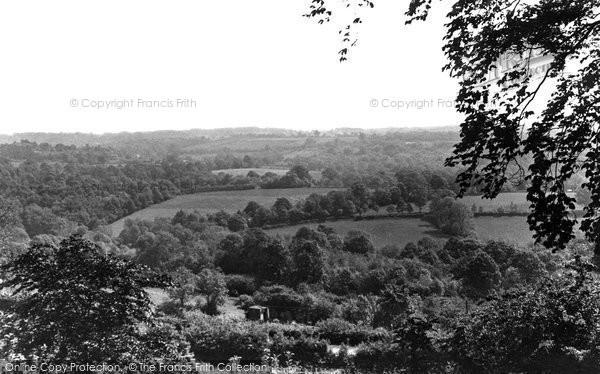 Photo of Danehill, View From Church Lane c.1955
