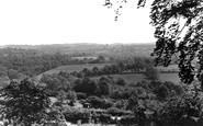Danehill, view from Church Lane c1955