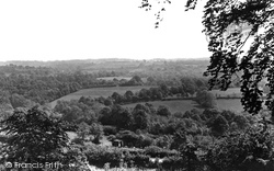 Danehill, View From Church Lane c.1955