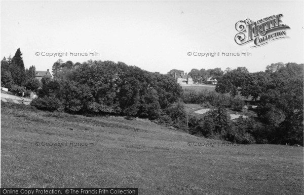 Photo of Danehill, View From Lewes Road c.1955