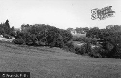 Danehill, View From Lewes Road c.1955