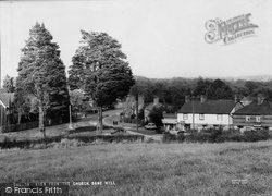 Danehill, View From The Church c.1955