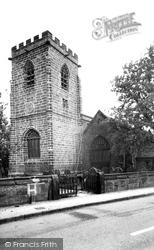 All Saints' Church c.1955, Daresbury
