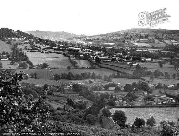 Photo of Darley Dale, General View c.1955