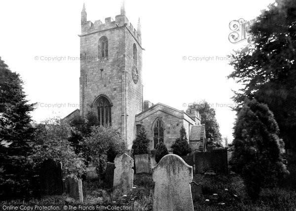 Photo of Darley Dale, St Helen's Church 1892
