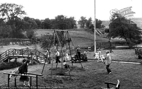 Photo of Darley Dale, The Pleasure Gardens, View Of Two Dales Cara Hols c.1955