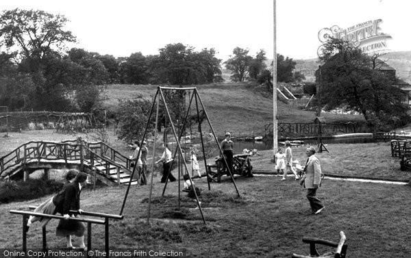 Darley Dale, the Pleasure Gardens c1955