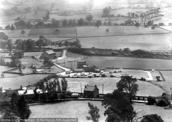 Photo of Darley Dale, View Of Two Dales Cara Hols c.1955