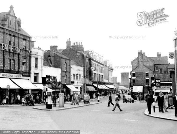 Photo of Darlington, Blackwellgate c1955, ref. d2015