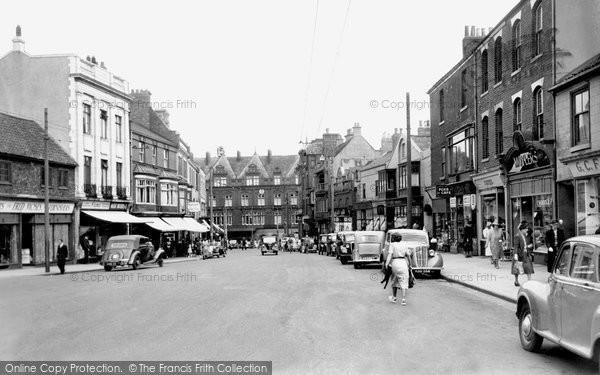Photo of Darlington, Bondgate c1955, ref. d2006