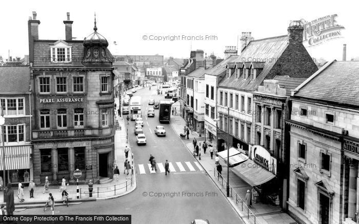 Photo of Darlington, Bondgate c1965, ref. d2036