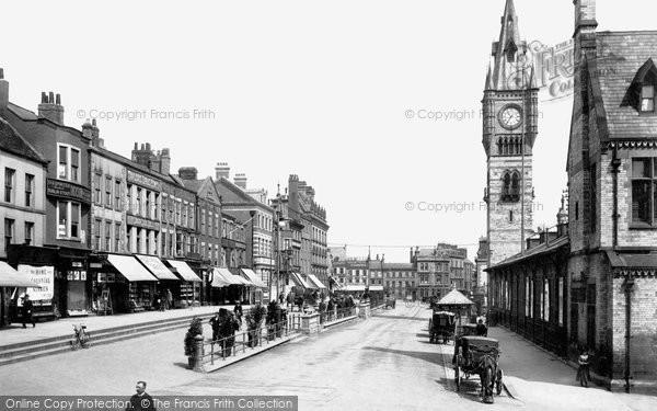 Photo of Darlington, High Row 1903