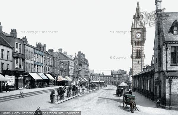 Photo of Darlington, High Row 1903, ref. 50005p