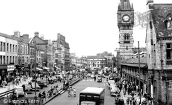 Darlington, High Row c.1955