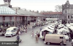 Darlington, Market Place c.1965