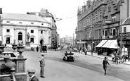 Darlington, Northgate And The King's Head Hotel 1926