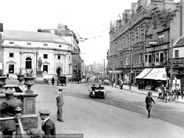 Photo of Darlington, Northgate and The King's Head Hotel 1926, ref. 79028