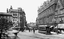 Darlington, Northgate And The King's Head Hotel c.1905