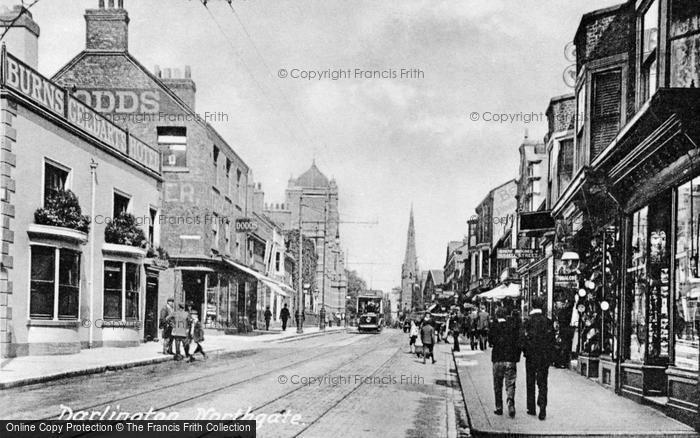Photo of Darlington, Northgate c1915, ref. d2312