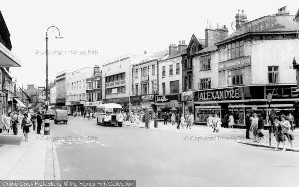 Photo of Darlington, Northgate c1965, ref. d2037
