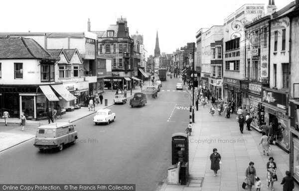 Photo of Darlington, Northgate c1965, ref. d2038