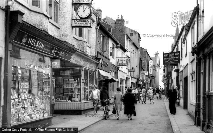 Photo of Darlington, Post House Wynd c.1965