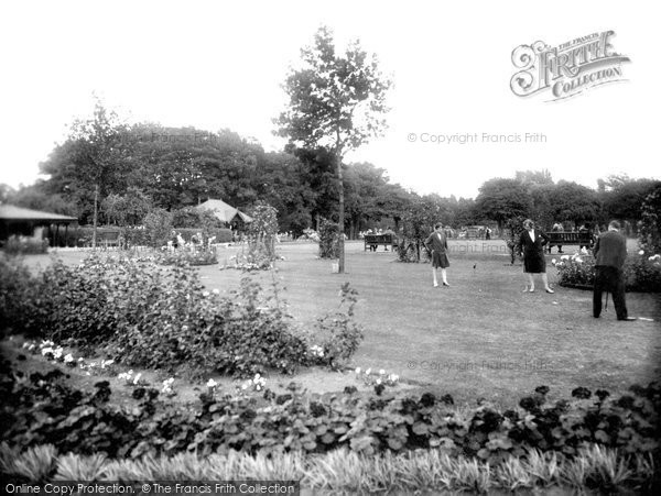 Photo of Darlington, Putting Green 1929, ref. 82532