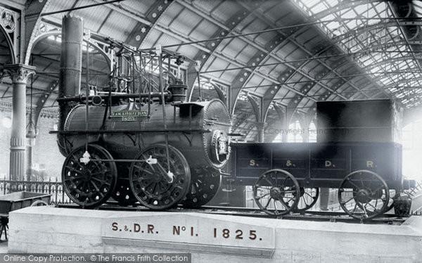 Photo of Darlington, S & D Railway, Number One Engine 1892, ref. 30646p