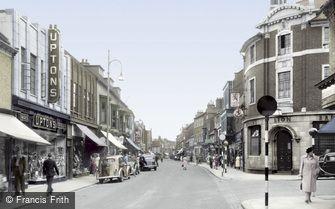 Darlington, Skinnergate c1955