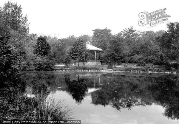 Photo of Darlington, the Park 1898, ref. 41665