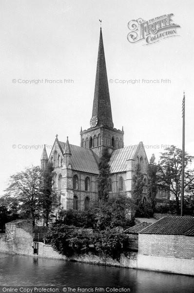 Photo of Darlington, St Cuthbert's Church 1892