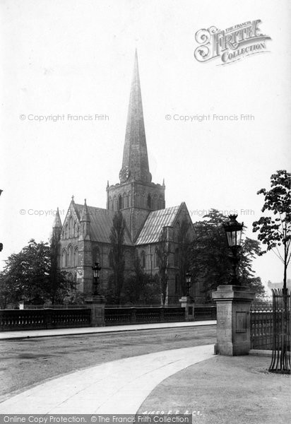 Photo of Darlington, St Cuthbert's Church 1898, ref. 41659