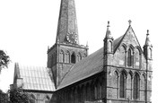 Darlington, St Cuthbert's Church 1898