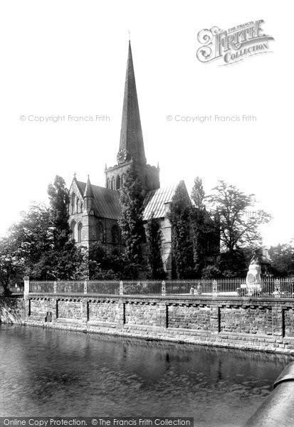 Photo of Darlington, St Cuthbert's Church 1906, ref. 54434