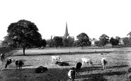 Darlington, St Cuthbert's Church Across The Fields 1906