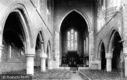 Darlington, St Hilda's Church Interior 1893