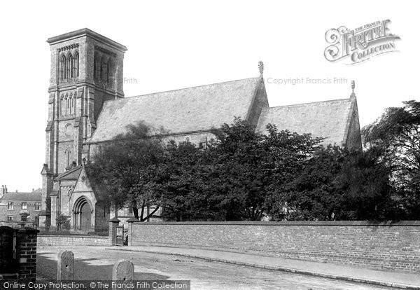 Photo of Darlington, St John's Church 1892, ref. 30645
