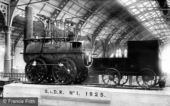 Darlington, Stockton & Darlington Railway, 'Locomotion' No.1 Engine 1892