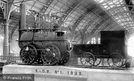 Darlington, Stockton & Darlington Railway, 'locomotion' No.1 Engine 1892
