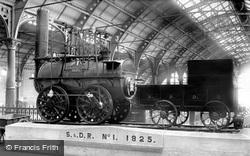 Stockton & Darlington Railway, 'locomotion' No.1 Engine 1892, Darlington